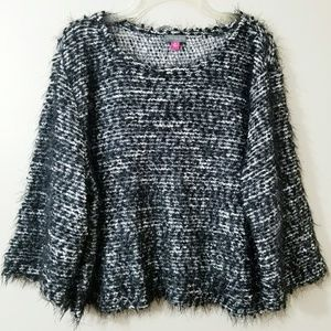 Sweaters - VINCE CAMUTO Fuzzy Tincel Sweater. Size XL.